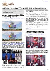 SGcafe Anime News For Otaku Apr 201...