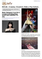 SGcafe Anime News For Otaku Jun 201...
