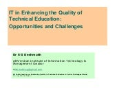 Sgd role-of-it-in-quality of-education