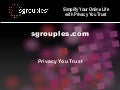 Sgrouples as Intranet tool