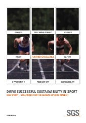 Drive Successful Sustainability in Sport