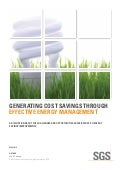SGS Energy Management White Paper May 2013 Update