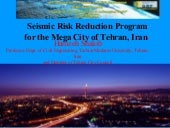 Hamzeh Shakib - Seismic Risk Reduct...