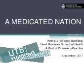 UTSpeaks: A medicated nation (Part ...