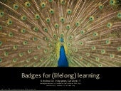 Open Badges for (lifelong) learning