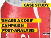 Case Study: Share a Coke Campaign Post-analysis