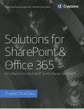 Cryptzone SharePoint and Office 365 Security Solutions Guide