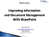 Information and Records Management in SharePoint - An In-depth Review