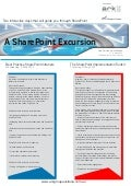 A SharePoint Excursion