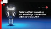 Fostering Open Innovation and Knowl...
