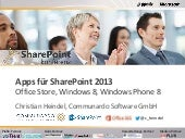 Apps für SharePoint 2013 (Office St...