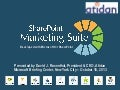 SharePoint Marketing Suite - Presentation from Intlock and Atidan