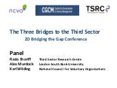 ESRC Knowledge Brokerage conference...