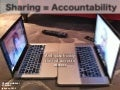 Sharing is Accountability
