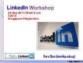 Introduction to LinkedIn (Sharing S...