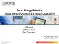 "Peter Shaw - ""Gamification to Drive Smart Energy Behaviors"""