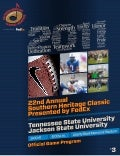 22nd Annual Southern Heritage Classic Official Game Program