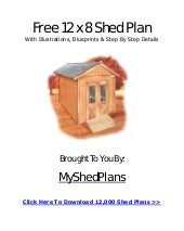 How to build a shed,Garden Shed Pla...