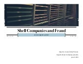 Shell Companies and Fraud: An Investigative Primer at IRE by Kelly Carr