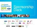 ShesConnected Conference Sponsor Deck Updated September 2011