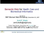 Semantic Web for Health Care and Bi...