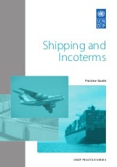Shipping and inco term