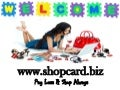 Shop cardpresentation