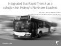 SHOROC Bus Rapid Transit proposal - NSW Transport Infrastructure Summit October 2011