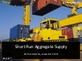 Short Run Aggregate Supply (SRAS)