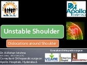 Shoulder instabilty