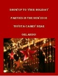 Show up to your holiday parties in the new 2016 Toyota Camry near Orlando!