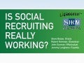 Is Social Recruiting Really Working?