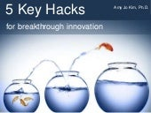 5 Key Hacks for Breakthrough Innovation