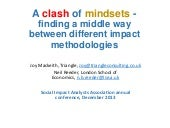 Mindset - A Clash of Mindsets Part 1