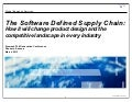 The software defined supply chain