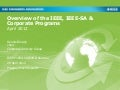 Overview of the IEEE, IEEE-SA & Corporate Programs