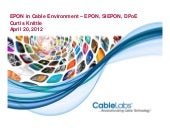 EPON in Cable Environment – EPON, S...