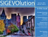 SIGEVOlution Volume 3 Issue 2