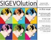 SIGEVOlution Volume 3 Issue 3