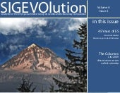 SIGEVOlution Volume 4 Issue 2
