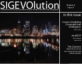 SIGEVOlution Volume 4 Issue 3