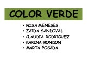 Significado del color verde