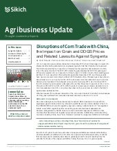 Sikich Agriculture Newsletter - Spring/Summer 2015 Edition