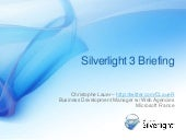 Silverlight Momentum and Introducin...