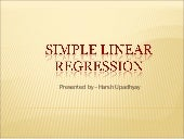 Simple linear regression (final)