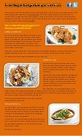 Simple recipes for fish