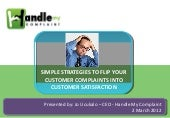 Simple strategies to flip your cust...