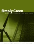 Simply Green -- A Few Steps in the Right Direction toward Integrating Sustainability into Public Sector IT