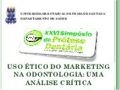 Simposio uso ético do marketing na ...