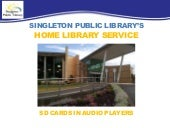 Singleton Public Library's Home Library Service